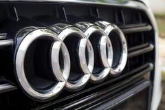 ΚΟΥΆΛΑ ΛΟΥΜΠΟΎΡ, ΜΑΛΑΙΣΙΑ - 12 Αυγούστου 2017: Το Audi είναι ένα γερμανικό autom Στοκ φωτογραφία με δικαίωμα ελεύθερης χρήσης
