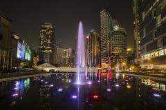 ΚΟΥΆΛΑ ΛΟΥΜΠΟΎΡ, ΜΑΛΑΙΣΙΑ - 11 ΜΑΡΤΊΟΥ 2014 Petronas Στοκ Φωτογραφίες