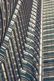 Κουάλα Λουμπούρ, Μαλαισία, 18.2013 Δεκεμβρίου: Δίδυμοι πύργοι Petronas, Kua Στοκ Εικόνες