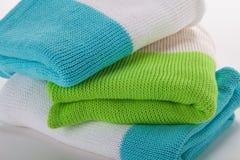 Κουβέρτες σύστασης σε ένα άσπρο υπόβαθρο στοκ εικόνα