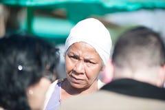 Κουβανικά πωλώντας αγαθά γυναικών στοκ εικόνα με δικαίωμα ελεύθερης χρήσης