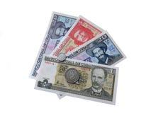Κουβανικά χρήματα που απομονώνονται στην άσπρη ανασκόπηση Στοκ εικόνες με δικαίωμα ελεύθερης χρήσης