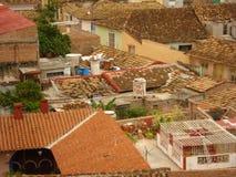 Κουβανικές στέγες Στοκ εικόνα με δικαίωμα ελεύθερης χρήσης