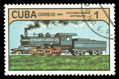 Κουβανική ατμομηχανή ατμού Στοκ Φωτογραφία