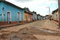 κουβανική οδός Στοκ Εικόνες