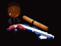 Κουβανική πολυτέλεια ονείρου διανυσματική απεικόνιση