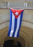 κουβανική σημαία Στοκ φωτογραφίες με δικαίωμα ελεύθερης χρήσης