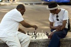 Κουβανικοί λαοί Στοκ Εικόνες