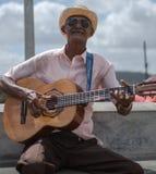 κουβανικός μουσικός Στοκ Εικόνες