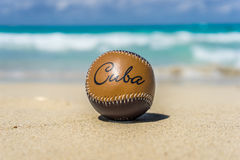Κουβανικό μπέιζ-μπώλ Στοκ φωτογραφίες με δικαίωμα ελεύθερης χρήσης