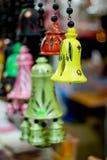 κουδούνια ζωηρόχρωμα Στοκ Φωτογραφία