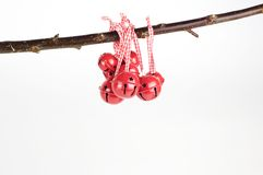 Κουδούνια Χριστουγέννων Στοκ Φωτογραφίες