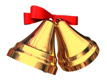 Κουδούνια Χριστουγέννων στοκ εικόνα με δικαίωμα ελεύθερης χρήσης