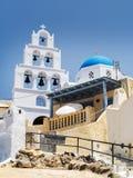 Κουδούνια Santorini Στοκ Φωτογραφίες