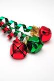 κουδούνισμα Χριστουγέννων κουδουνιών Στοκ φωτογραφίες με δικαίωμα ελεύθερης χρήσης