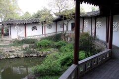 Κουδούνισμα Cang Lang κήπων Suzhou στοκ φωτογραφίες με δικαίωμα ελεύθερης χρήσης