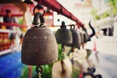 Κουδούνι στο ναό στοκ φωτογραφία