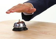 κουδούνι το δαχτυλίδι μ&o Στοκ Φωτογραφίες