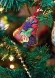 Κουδούνι Χριστουγέννων Στοκ φωτογραφίες με δικαίωμα ελεύθερης χρήσης