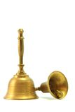 κουδούνι χρυσό Στοκ φωτογραφίες με δικαίωμα ελεύθερης χρήσης
