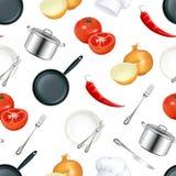 κουζίνα ανασκόπησης άνευ Στοκ εικόνες με δικαίωμα ελεύθερης χρήσης