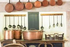 κουζίνα αναδρομική Στοκ Φωτογραφίες