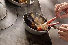 κουζίνα γαστρονομική Στοκ εικόνα με δικαίωμα ελεύθερης χρήσης