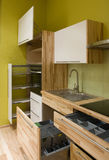 κουζίνα επίπλων Στοκ εικόνες με δικαίωμα ελεύθερης χρήσης