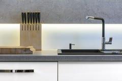 κουζίνα λεπτομέρειας σύ&g Στοκ εικόνες με δικαίωμα ελεύθερης χρήσης