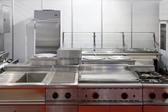 Κουζίνα εστιατορίων Στοκ Φωτογραφία
