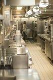 Κουζίνα εστιατορίων Στοκ Φωτογραφίες