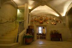 Κουζίνα κάστρων Chenonceau Στοκ φωτογραφίες με δικαίωμα ελεύθερης χρήσης