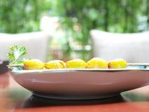 Κουζίνα καρυδιών Ginkgo στοκ εικόνα
