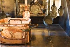 κουζίνα λεπτομέρειας π&alpha Στοκ Φωτογραφία