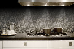κουζίνα λεπτομέρειας Στοκ Εικόνες