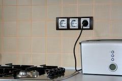 κουζίνα λεπτομέρειας moder Στοκ Φωτογραφία