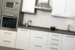 Κουζίνα με τον εξοπλισμό Στοκ Φωτογραφία