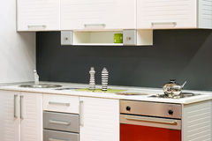 κουζίνα μικρή Στοκ φωτογραφία με δικαίωμα ελεύθερης χρήσης