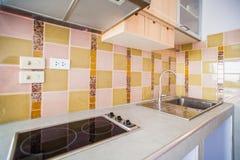 Κουζίνα νεροχυτών Στοκ φωτογραφία με δικαίωμα ελεύθερης χρήσης