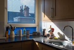 Κουζίνα παππούδων και γιαγιάδων Στοκ φωτογραφία με δικαίωμα ελεύθερης χρήσης