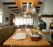 κουζίνα παραδοσιακή Στοκ Φωτογραφία