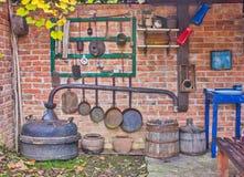 κουζίνα παλαιά Στοκ Εικόνες