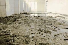 Κουζίνα σε ένα εγκαταλειμμένο εργοστάσιο Στοκ φωτογραφία με δικαίωμα ελεύθερης χρήσης