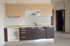 κουζίνα σπιτιών νέα Στοκ Εικόνες
