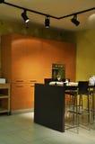 κουζίνα σύγχρονη Στοκ εικόνα με δικαίωμα ελεύθερης χρήσης