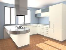 κουζίνα σύγχρονη διανυσματική απεικόνιση