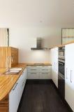 κουζίνα σύγχρονη Στοκ Εικόνες