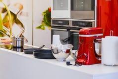 κουζίνα σύγχρονη Στοκ εικόνες με δικαίωμα ελεύθερης χρήσης