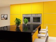 κουζίνα σύγχρονη Στοκ Φωτογραφίες