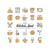 κουζίνα Τρόφιμα απεικόνιση αποθεμάτων